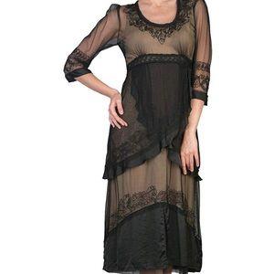 Nataya black lace dress NWT no flaws